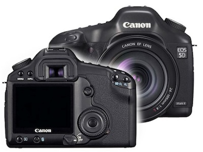 CrunchGear » Archive » Canon 5D Mark II rumors are swirling, swirling